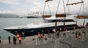 One of the Admiral Tecnomar Group's latest launches - Nadara 45 charter yacht OURANOS