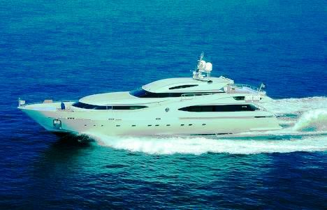 One of the IMP superyacht projects - luxury charter yacht Light Blue