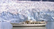 Ports of CauseTM Flagship Vessel - superyacht THE HIGHLANDER in Glacial Waters