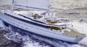 Ron Holland's post refit render of sailing yacht m5 (ex Mirabella V)