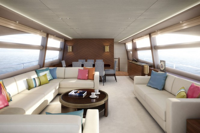 Princess 82 yacht - Interior