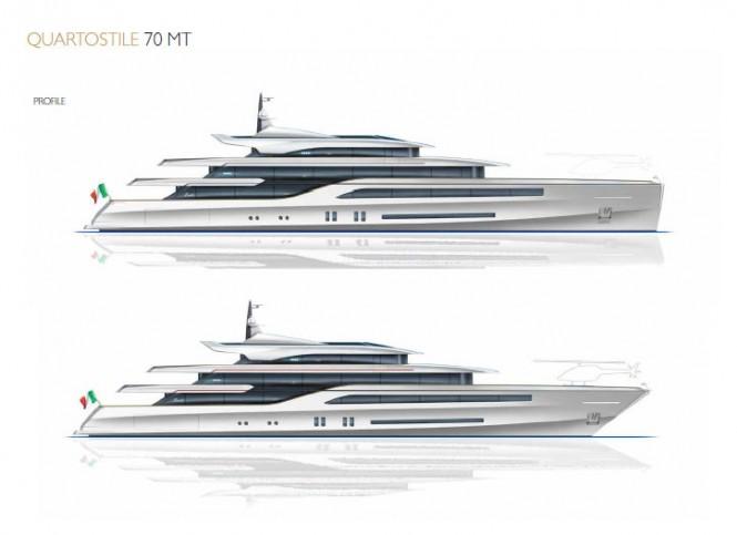 QS Benetti Innovation 70 Megayacht Concept