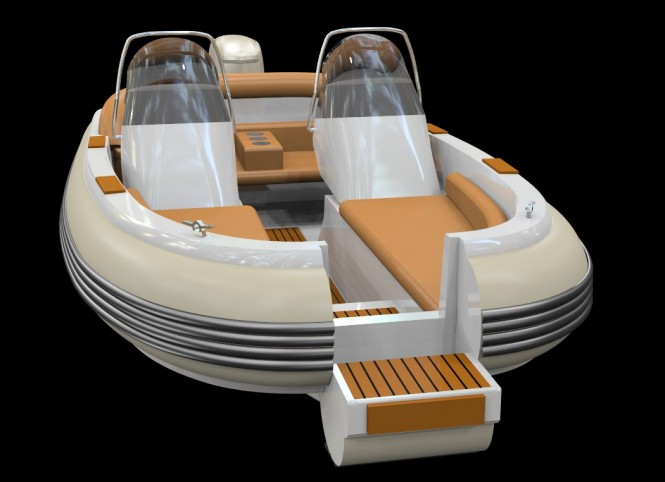 Rendova XT 15 yacht tender