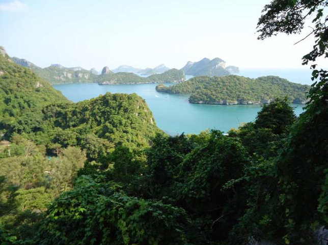 SAMUI THAILAND Angthong Marine National Park