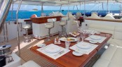 Sailing Yacht Felicita West - Al fresco dining