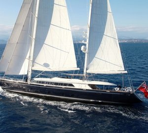 Spectacular Perini Navi SILENCIO superyacht (ex Perseus) available for yacht charter holidays in the Caribbean