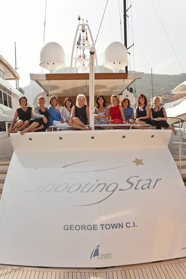 Shooting Star superyacht hosting 'Women in Yachting and Ocean Advocacy' event