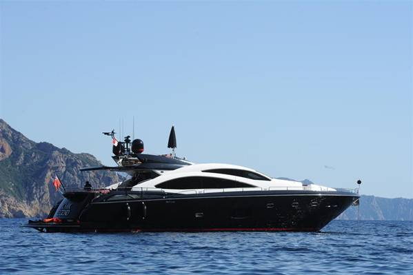 Sunseeker Luxury Motor Yacht Black Legend Photo Courtesy Of International