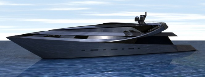 Superyacht MANTA concept designed by Scott Henderson