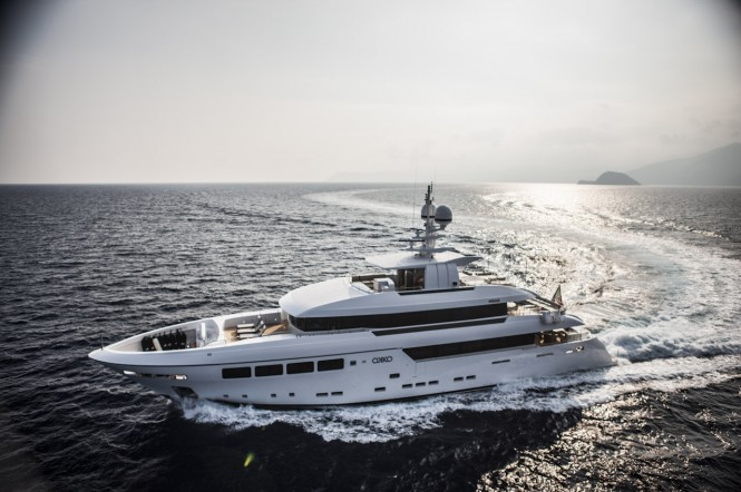 Superyacht OKKO - Photo by Matteo Gastel