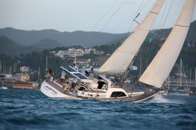 Swan 62 sailing yacht Albatros - previous ARC race Photo by Manfred Kerstan