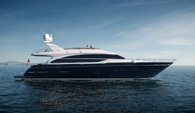 The latest Princess 82 superyacht by Princess Yachts