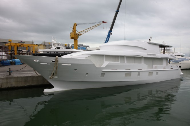 Tradition Supreme 108 superyacht Hull BK001