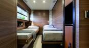 Twin guest cabin - Magellano 76 yacht