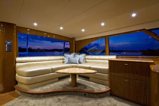 Viking 82 Enclosed Bridge Convertible Luxury Yacht