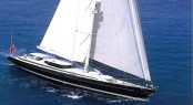 Vitters sailing yacht Koo designed by Dubois to participate in the 2013 St. Barths Bucket