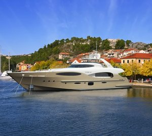 Vicem Yachts launching the first Vulcan 32 metre RPH motor yacht BRONKO I