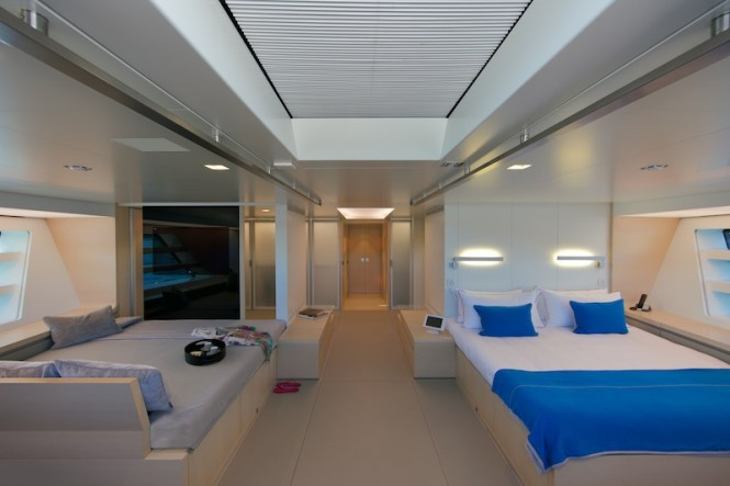 Wally50m Better Place - Owner's suite - Photo Toni Meneguzzo