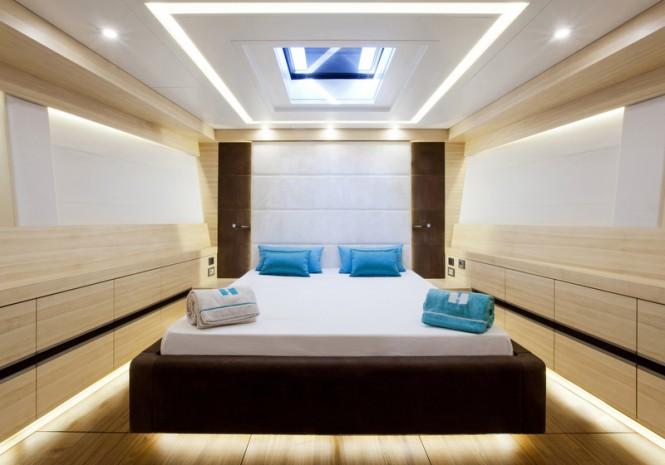 WallyCento yacht Hamilton - Master Cabin