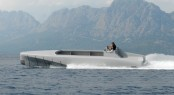 14m Silver Arrows Marine Granturismo superyacht tender under first sea trial