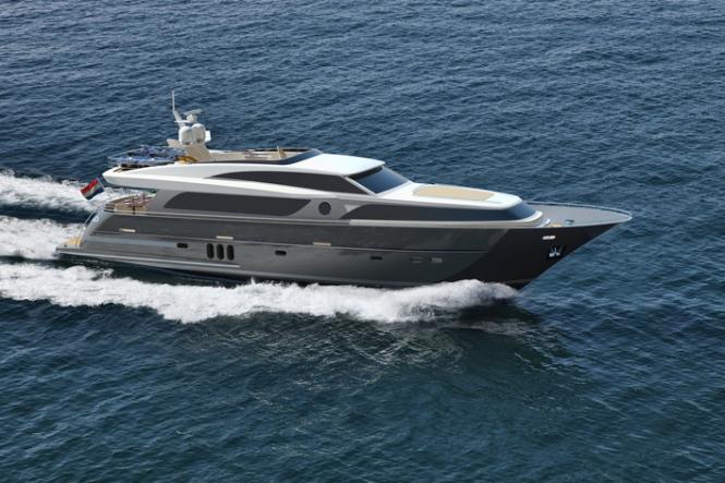 26m Continental III yacht - Image courtesy of Wim van der Valk