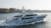 49m Acico superyacht Nassima featuring electrical systems by Piet Brouwer