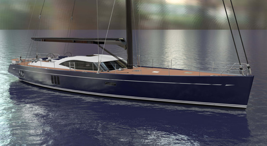 4th Oyster 885 superyacht by Oyster Yachts