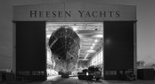 50m superyacht Project Azuro at the Heesen's facility in Oss, The Netherlands
