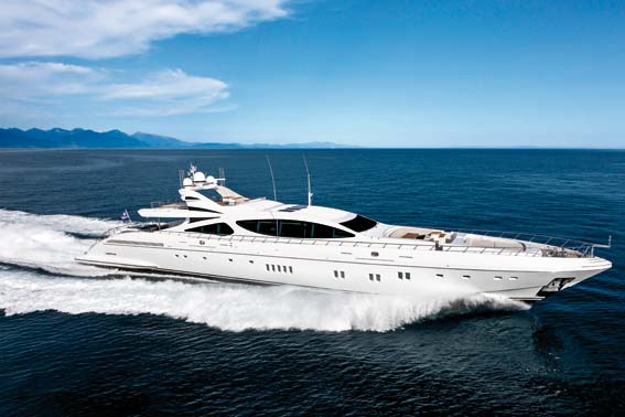 7th Mangusta 165 superyacht by Overmarine Group