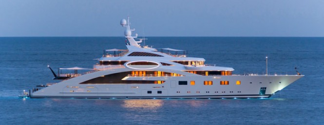 87m Luerssen luxury yacht ACE designed by Andrew Winch