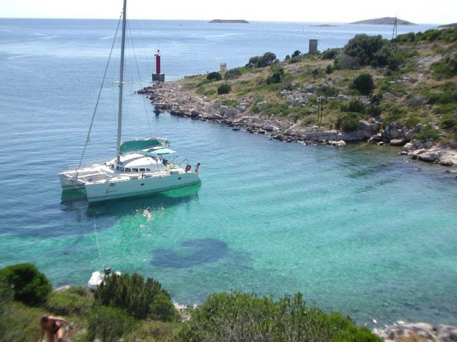 A popular yacht charter destination - the Adriatic Sea