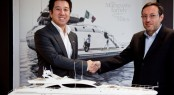 A working agreement between Overmarine Group and Martello Yachting
