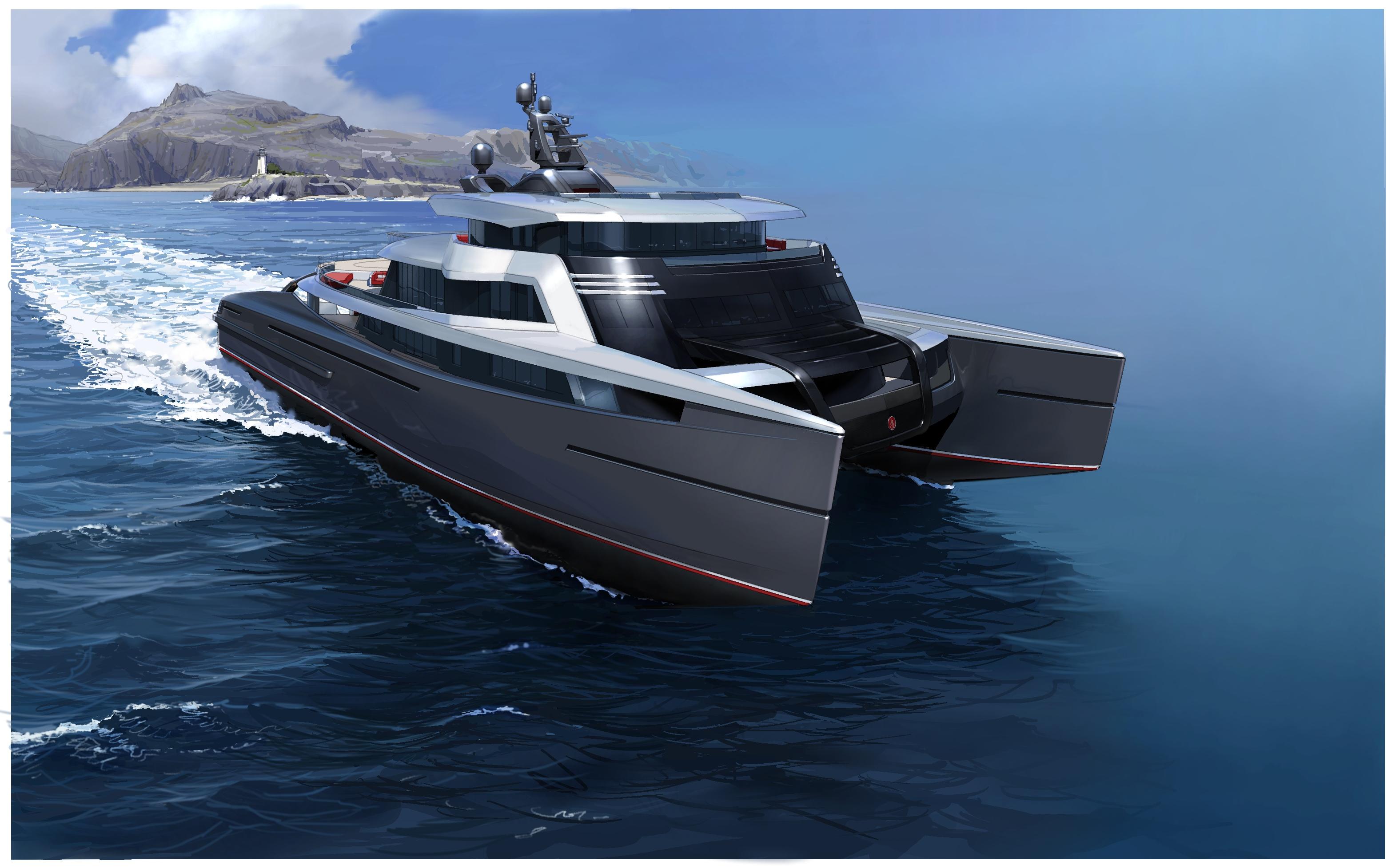 Abeking Amp Rasmussen Swath Yacht Of 63 Metres Yacht