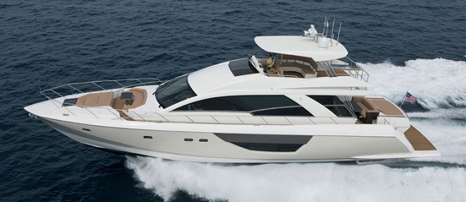 All new Alpha 76 Flybridge yacht Hull 5033 by Cheoy Lee