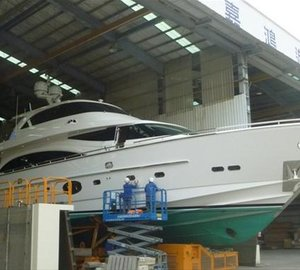 First sea trial successfully completed by Horizon motor yacht BLACK LEGION