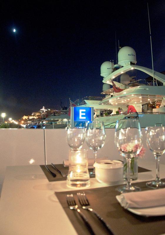 Blue Marlin Ibiza situated in a beautiful Mediterranean yacht charter destination - Ibiza