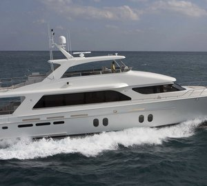 Interior images of the Cheoy Lee luxury yacht Bravo 88