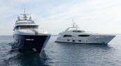 Caprice V superyacht and Bronko I yacht