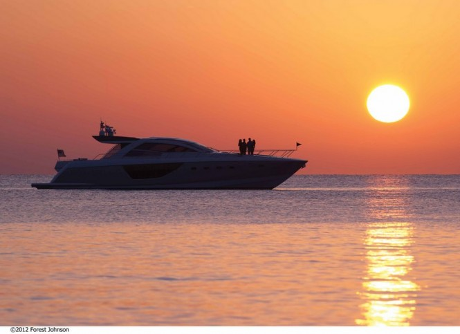 Cheoy Lee motor yacht Alpha 76' Express - Photo credit Forest Johnson