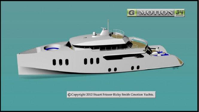 GMotion 34 Superyacht Design