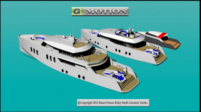Gmotion Yachts Range and Gmotion Yachts Tenders