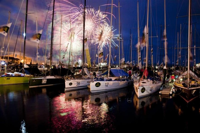 Hobart in a festive mood between Christmas and New Year's Eve - Photo credit Rolex Daniel Forster