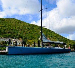 Transatlantic Superyacht & Maxi Regatta 2012: Line honours claimed by charter yacht Rán Leopard