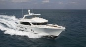 Luxury motor yacht Bravo 88' by Cheoy Lee