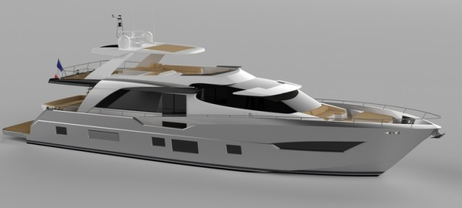 Luxury motor yacht Fly 2600 by Couach Yachts