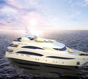 Motor yacht Miss Tor Yacht 130 in build at Orucoglu Shipyard