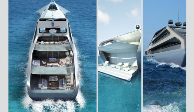 Luxury superyacht Jolly Roger design