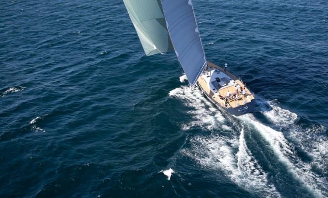 Luxury yacht Windfall by Southern Wind
