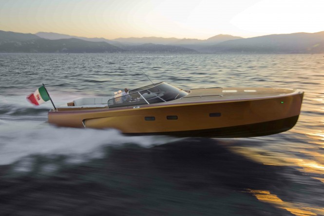 Maxi Dolphin MD51 Power yacht tender