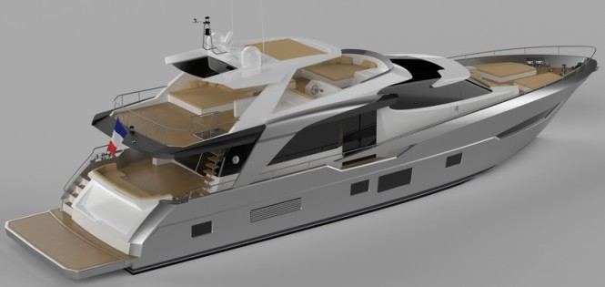 New Couach 2600 Fly Superyacht